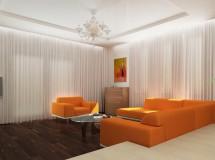 Проект інтер'єру приватного житлового будинку в передмісті Львова