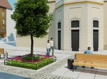 Public space improvement at Katedralna sq. in Lviv