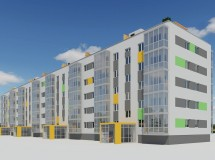 Проект ревіталізації панельного будинку