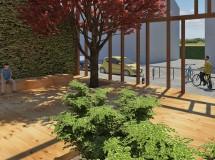Project of public space in Chernivtsi