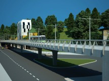 Проект трамвайного мосту в м. Львові