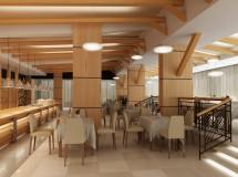 Проект інтер'єру кафе у м. Трускавець