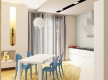 Interior design project of apartments in Lviv