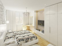 Moscow apartment interior design project