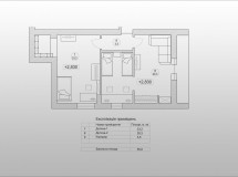 Interior design project of private house in Lviv suburbs